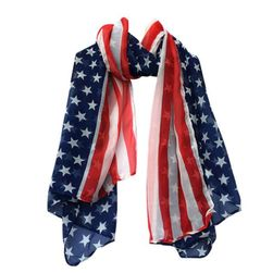 Дамски шал - американско знаме
