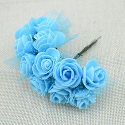 Dekorativne ruže od pene - 13 boja