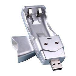Přenosná USB nabíječka pro tužkové baterie AA/AAA Ni-MH