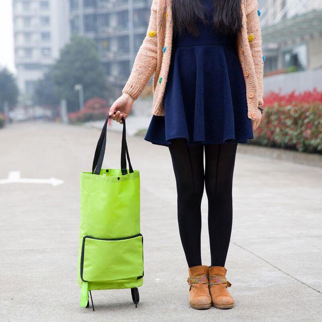Skládací taška na kolečkách 1
