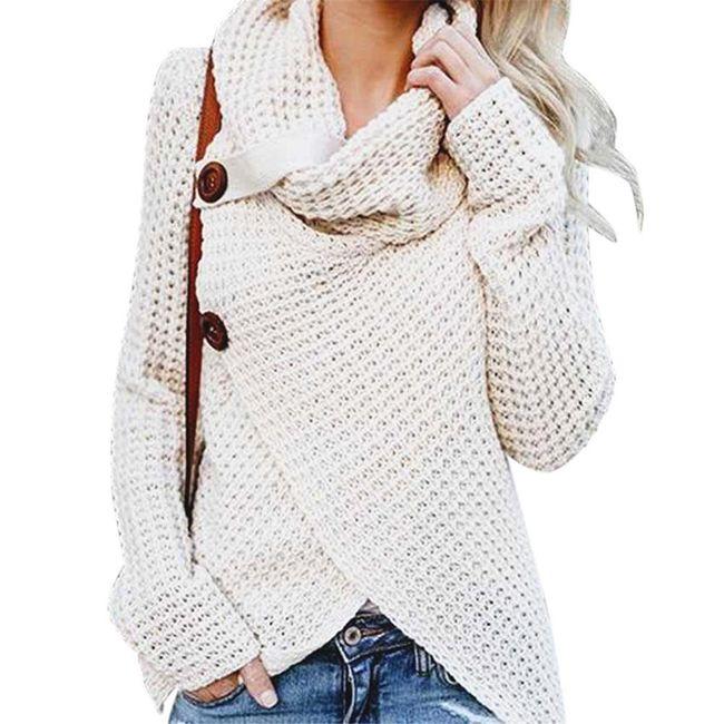 Ženski pleteni.džemper Shelby 1