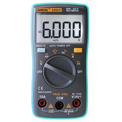 Digitális multiméter tartozékokkal - AN8001
