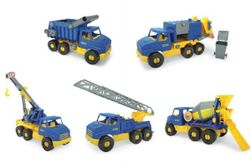 Auto middle Truck plast 42-49cm asst 5 druhov Wader RM_89032610
