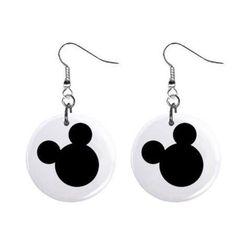 Fülbevaló -  Mickey Mouse