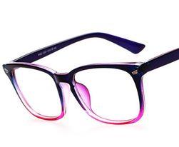 Modne okulary dla pań i panów - fioletowy