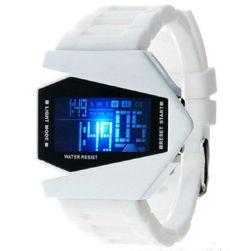 Дигитален часовник със силиконова каишка