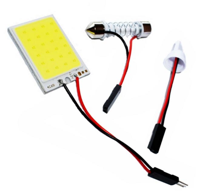 Araç T10 12V LED lambası 1