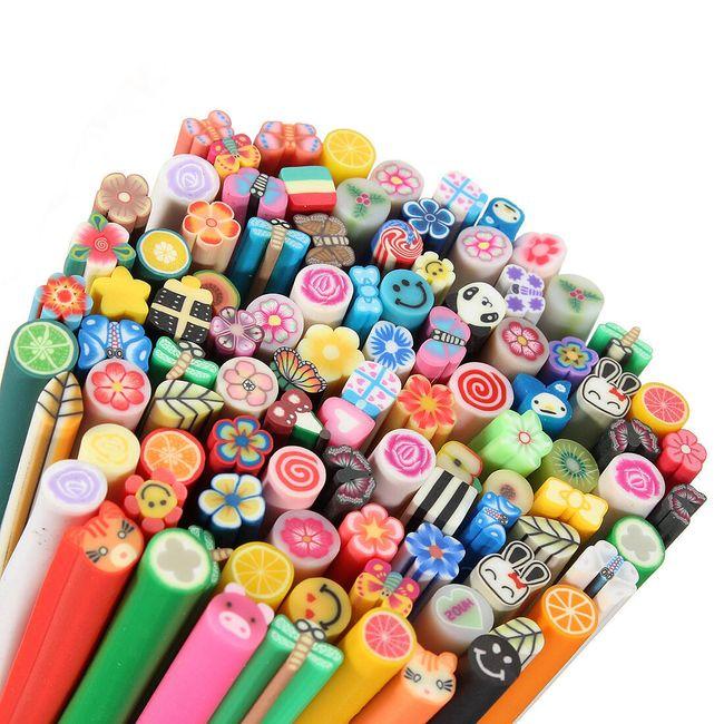 100 Fimo štapića u raznim motivima 1