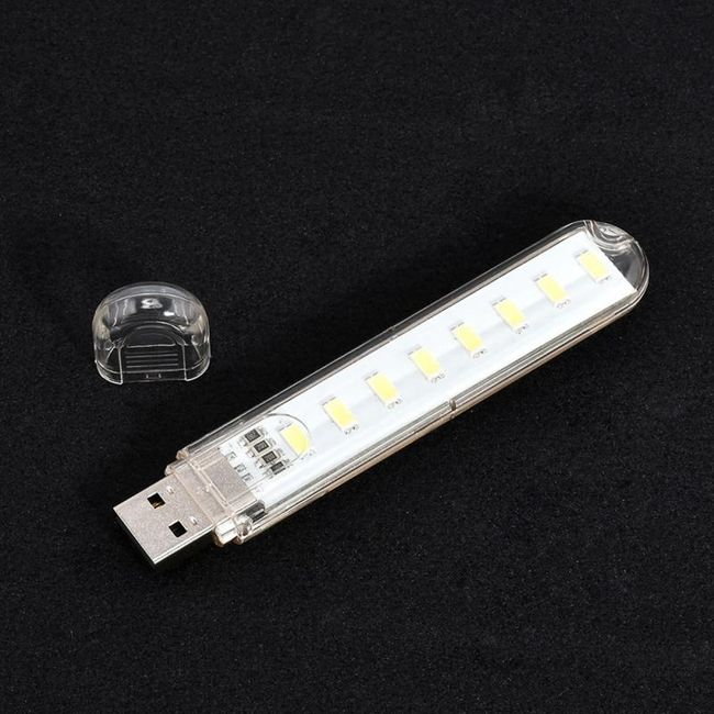 LED lampa na USB 1