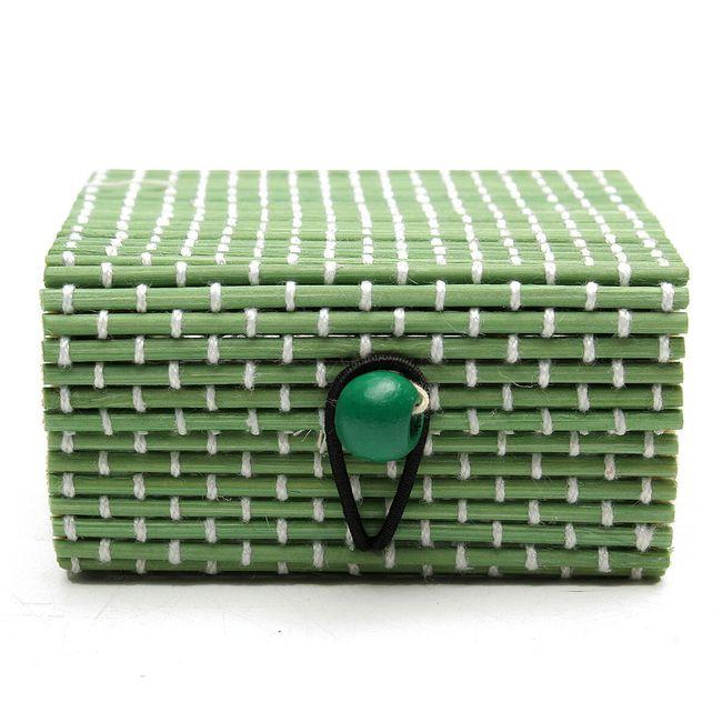 Cutie de bijuterii din lemn de bambus 13