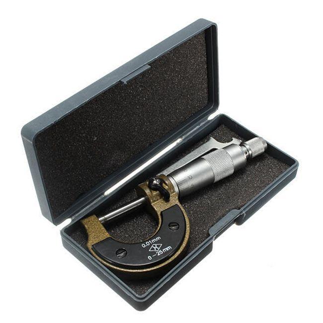 Mikrométer 0–25 mm 1