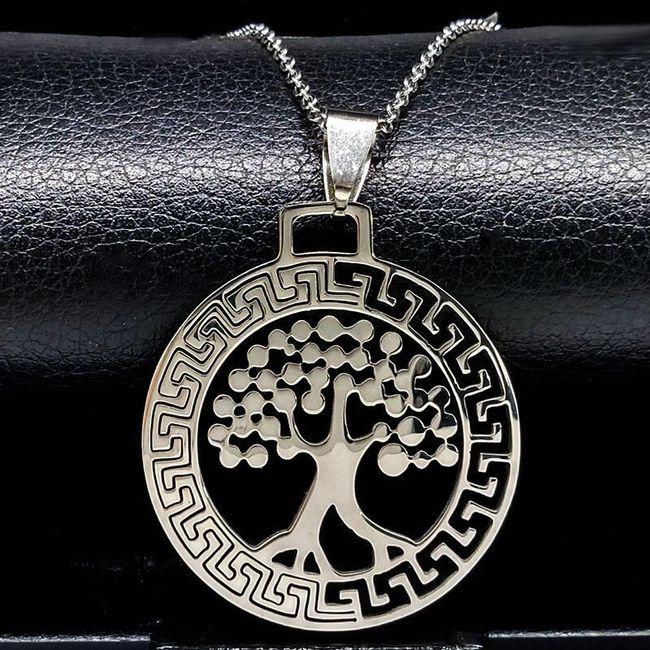 Unisex náhrdelník - strom života 1