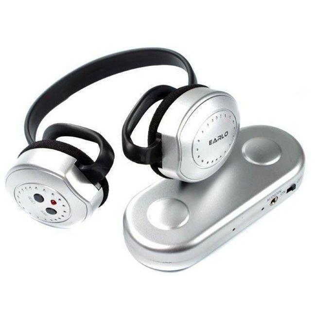 Bezdrátová sluchátka k počítači a televizi - FM 1