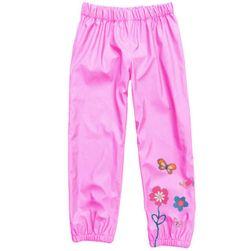 Dívčí kalhoty s květinou - 10 barev