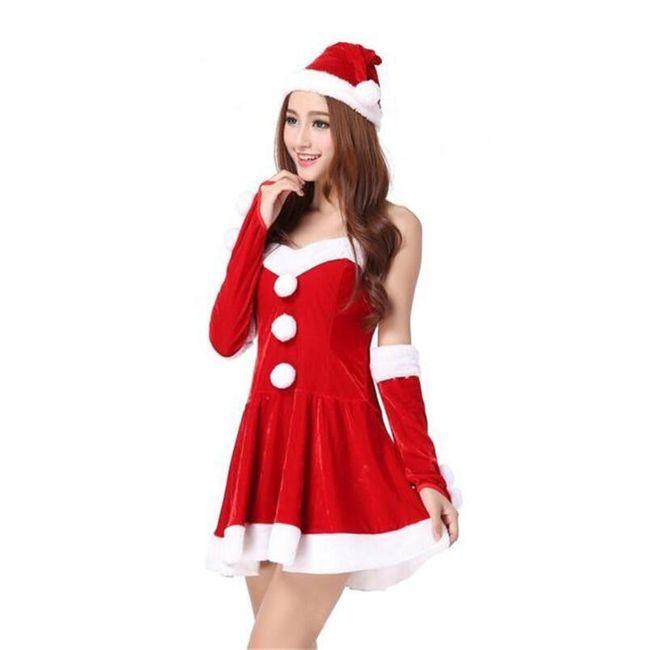 Női karácsonyi ruha Elfie