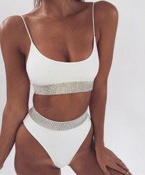 Ženski kupaći kostim sa višim strukom Elizabeth