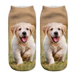 Ponožky se štěňátkem
