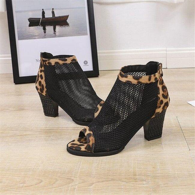 Damskie buty na obcasie TF9283 1