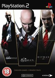 Hra (PS2) Hitman: The Triple Hit Pack