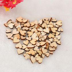 Деревянные сердечки DS11