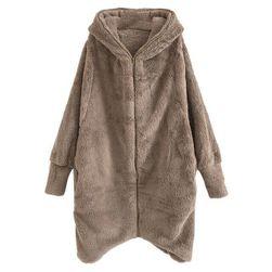Hanorac stil palton Haylee