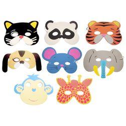 10 kusů zvířecích masek pro děti