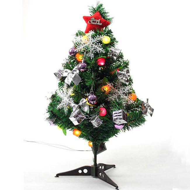 Stromeček s ozdobami 60 cm 1