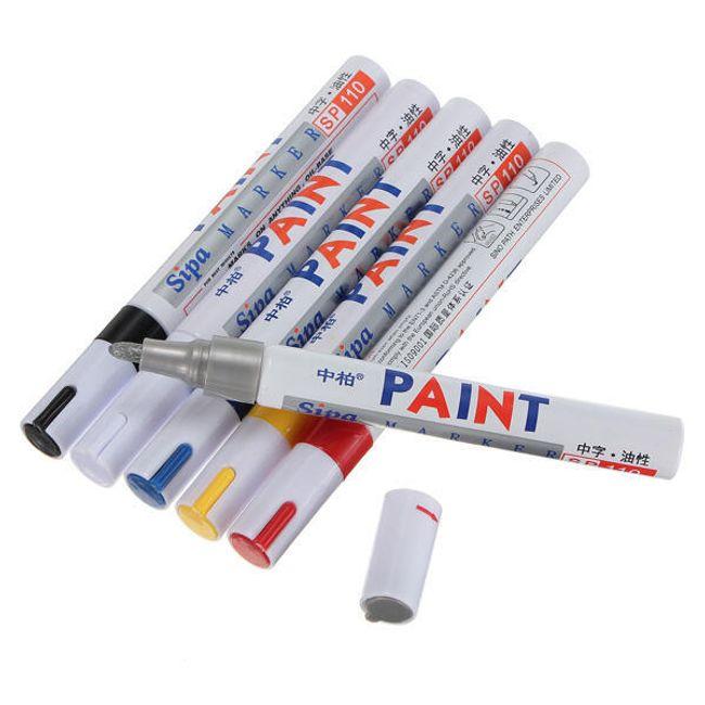 Olovka za gume (vodootporna boja) - izbor od 6 boja 1