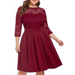 Damska plus size sukienka Monny