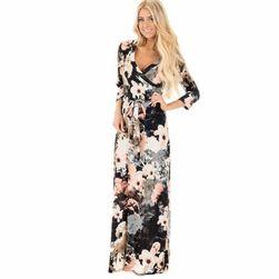 Женское платье с длинными рукавами Margitta