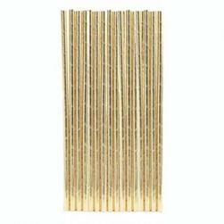 Хартиени сламки - златен цвят SR_589903