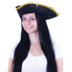 Klobouk pirátský KLASIK pro dospělé RZ_105072
