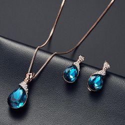 Dámský náhrdelník s náušnicemi DN58