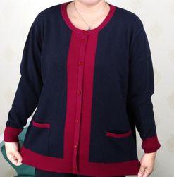 Женский свитер размеров плюс Minara
