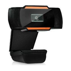 Webová kamera v černé barvě