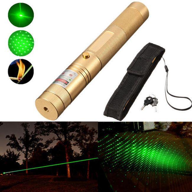 Zmogljiv laserski kazalec 1