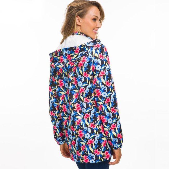 Női dzseki virágmotívummal - 5 méret.