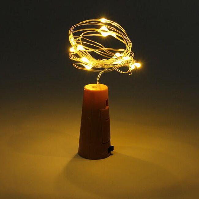 Bor dugó LED lámpákkal 1