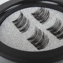 Магнетични 3D изкуствени мигли в кутийка - 1 двойка