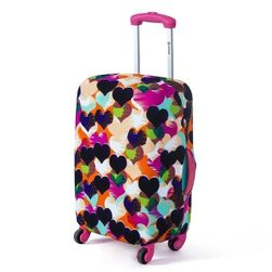 Színes bőrönd utazási fedél - három méret, sok minta