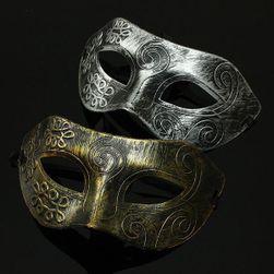 Stilska muška maska za karneval