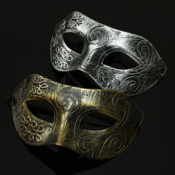 Stylowa męska maska na karnawał