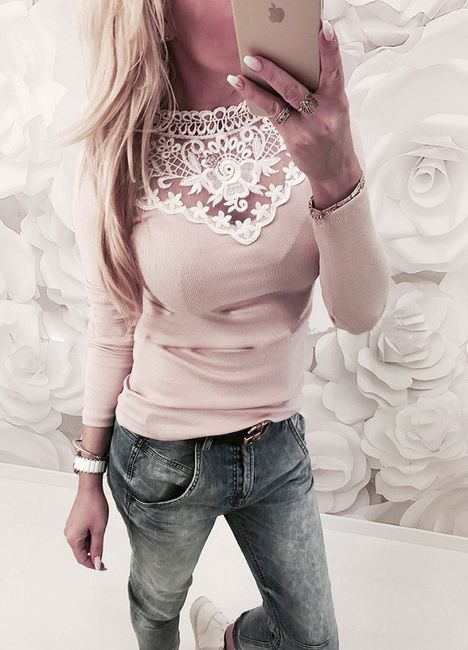 Női hosszú ujjú póló LS18 1