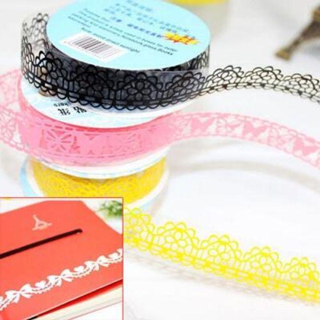 10 kusů pásek sloužících k dekoraci - různé motivy 1