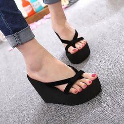 Elegantne papuče sa visokom potpeticom