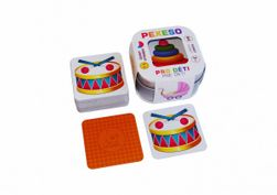 Pexeso Pro děti 64 karet v plechové krabičce 6x6x4cm Hmaťák RM_10770378