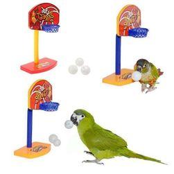 Играчка за папагали - баскетболен кош