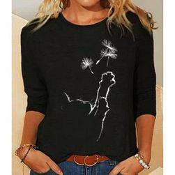 Dámske tričko s dlhým rukávom Lucille velikost M
