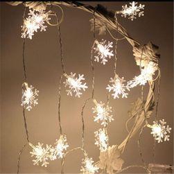 Światełka LED w kształcie płatków śniegu - 3 m