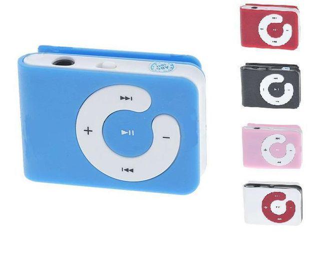 Mini MP3 przegrywacz z klipsem 1